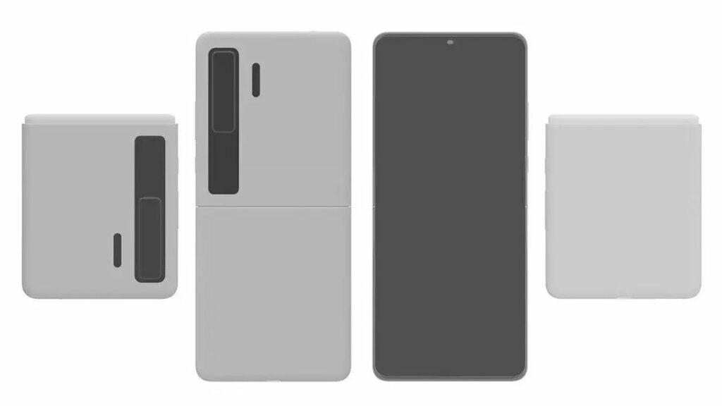 Paten Desain Huawei Mate V Foldable 1